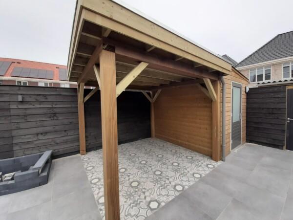 Overkapping project Nieuwerkerk